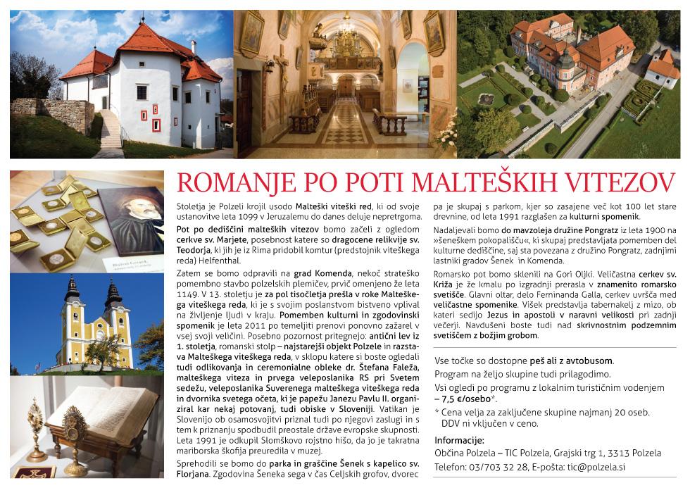 Romanje po poti malteških vitezov